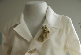 Plonos virtos vilnos kostiumėlis